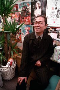 Nobu Yamaoka på Imagicas kontor