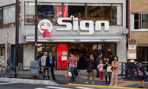 Sign Café