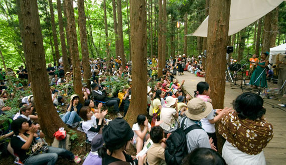 Fuji Rock Festival!