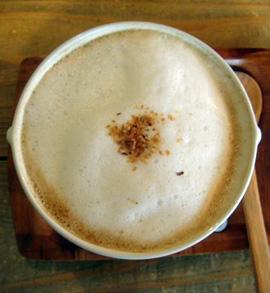 Soppa på Hattifnatt café